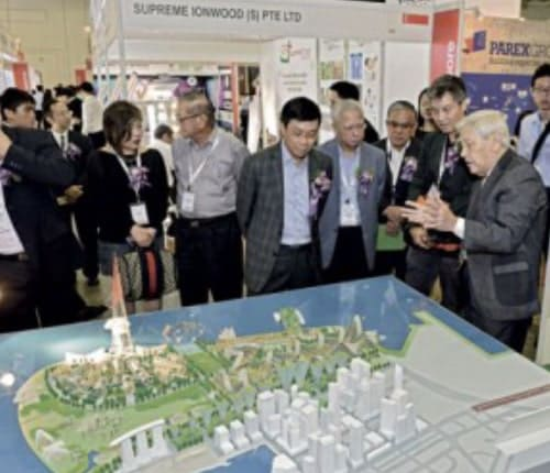 Singapore ArchXpo 2015 @ Marina Bay Sands event