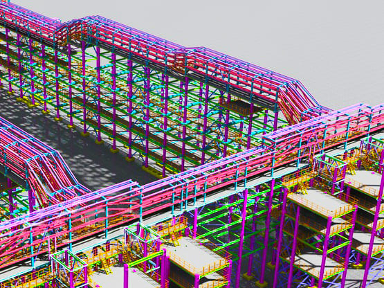 Steel Fabrication Drawing and Drafting Services