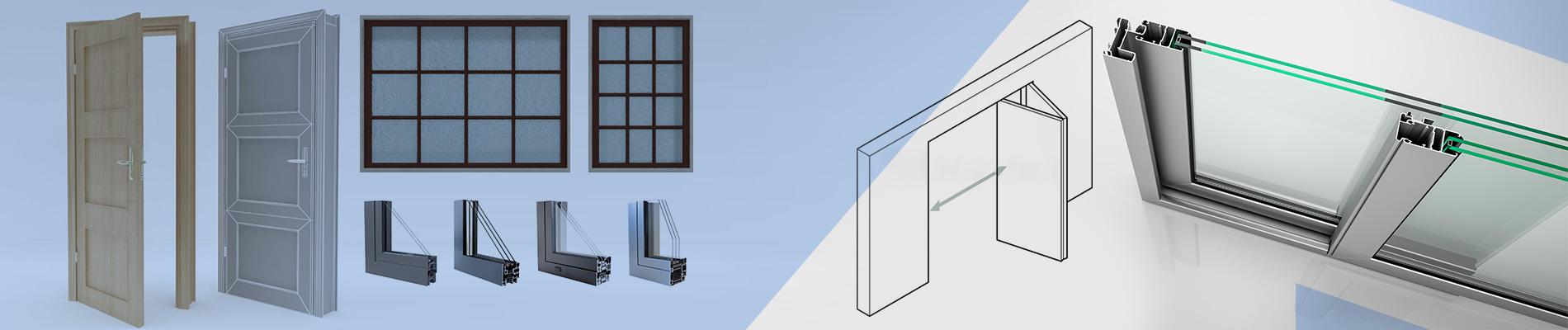 Doors and windows family creation