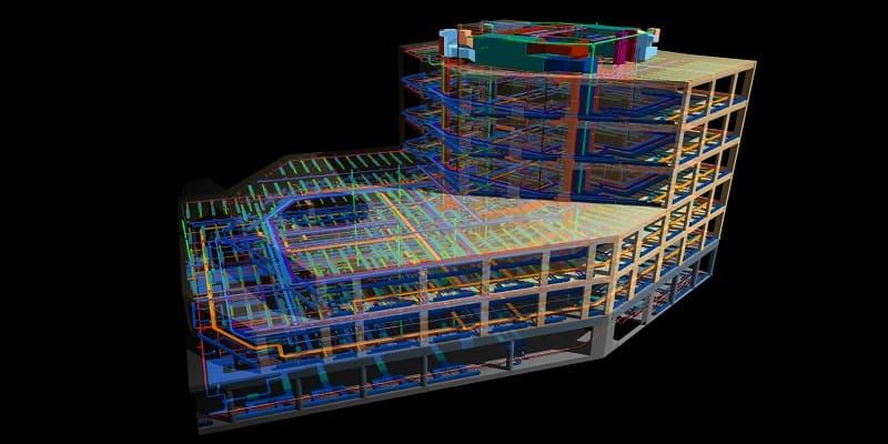 HOW 3D BIM MODELING WORKS