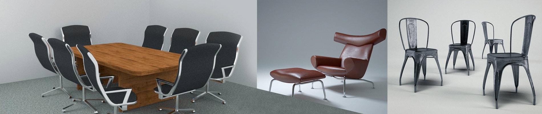 3D Furniture Rendering for Award-winning Product Manufacturer