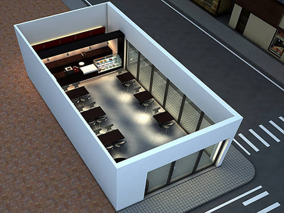 3D Floor Plan and Elevation Design