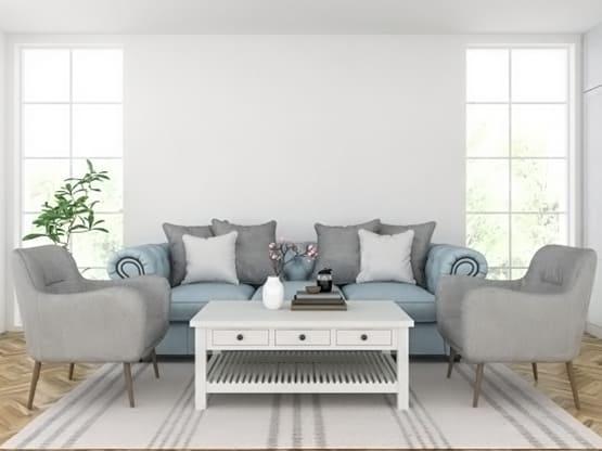 Industrial 3D Furniture Modeling