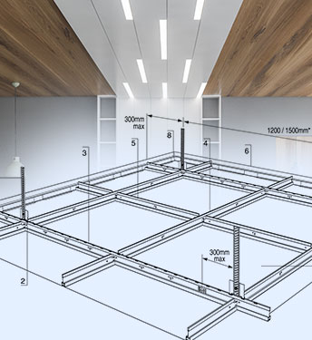 Ceiling and Floor Panel Design