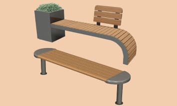 Parametric Industrial Furniture Modeling